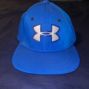 Boys youth blue Under Armour hat